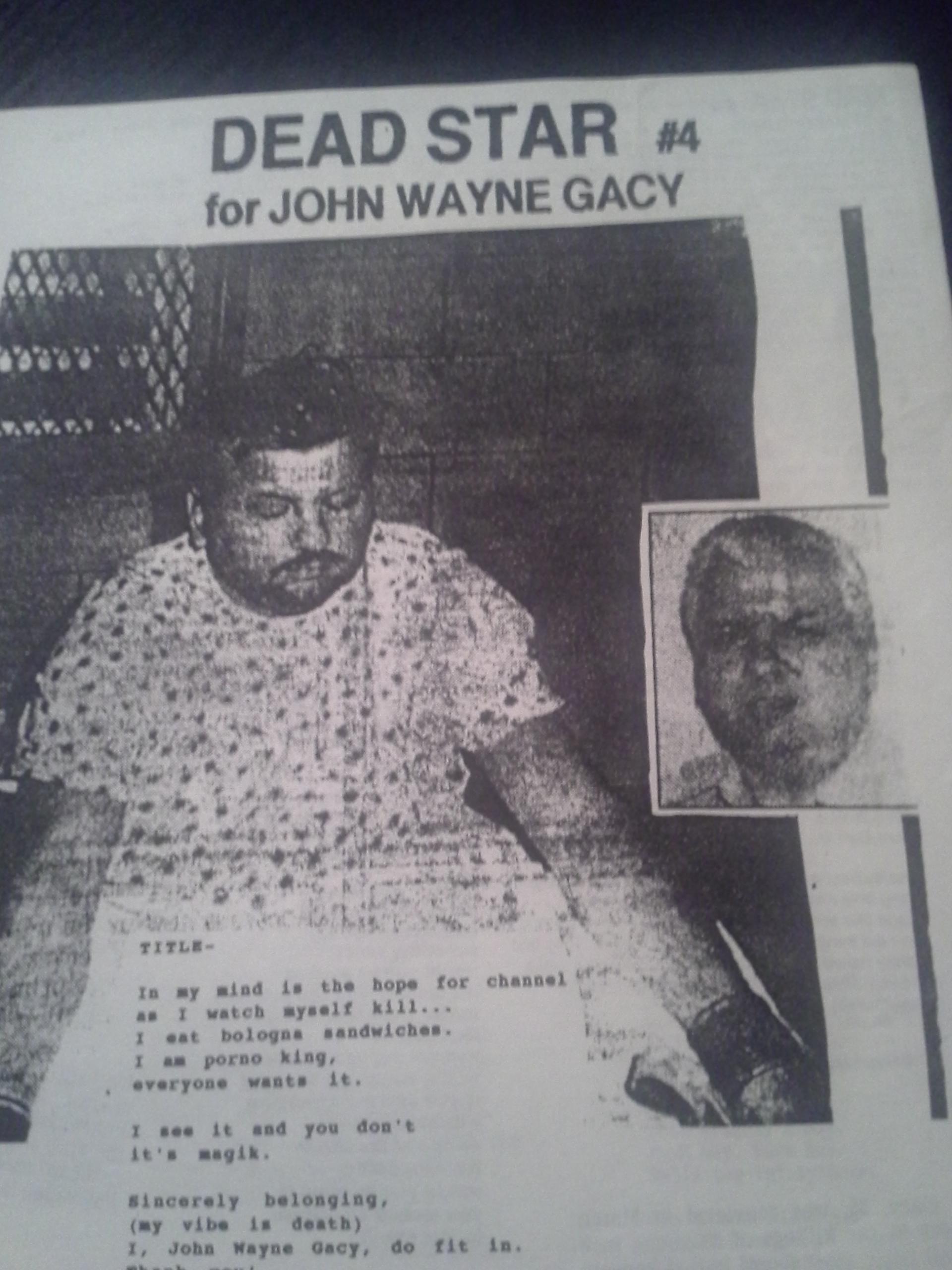 John Wayne Gacy | Kevin Sampsell