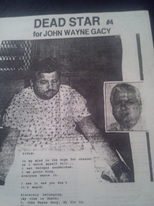 The John Wayne Gacy issue was pretty creepy (and sort of a cheat, since we knew he was about to executed).