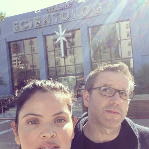 Myriam Gurba and I went to the Church of Scientology in L.A. but they weren't interested in us doing a reading there.
