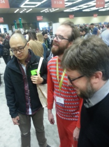 Richard Chiem, Adam Robinson, and Matthew Simmons