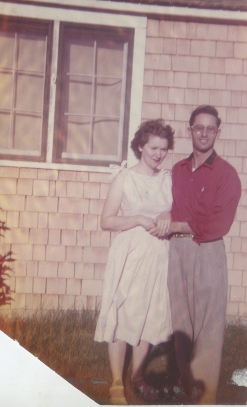 Mom w Dad (probably late 1950s)